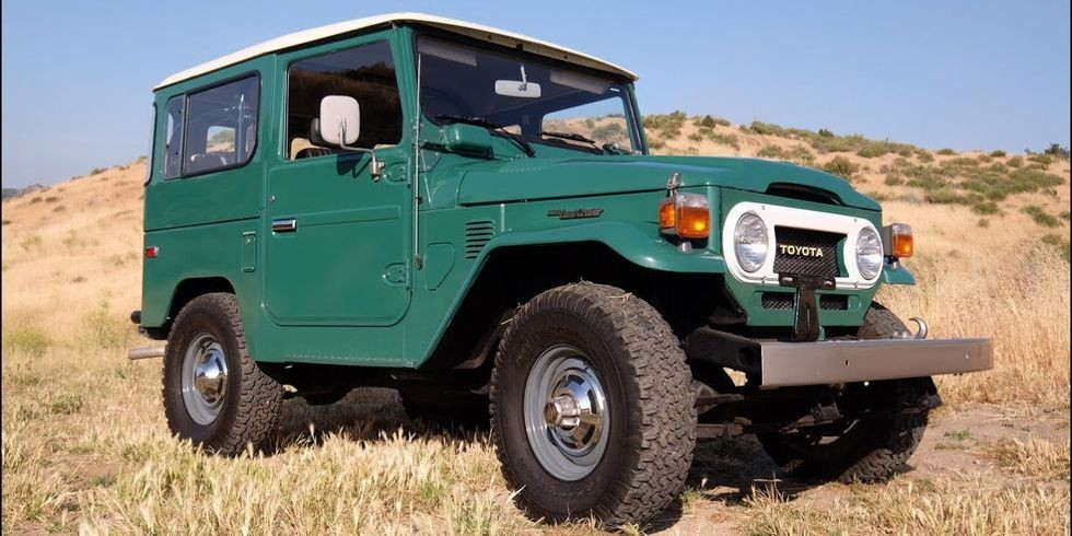 America's Most Original Toyota FJ40 Is a Unique Gem