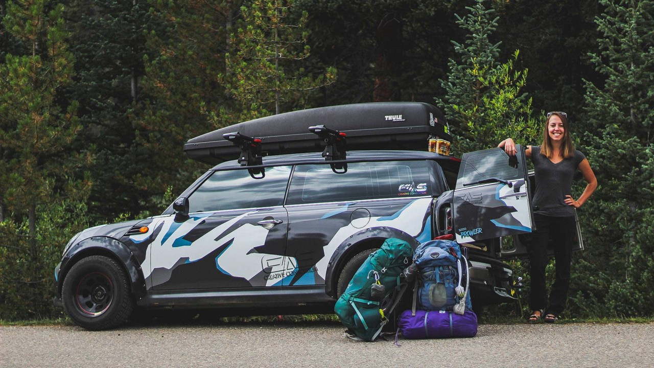 Lifted Mini Clubman Camper Is Your Tiny House For The Great Outdoors