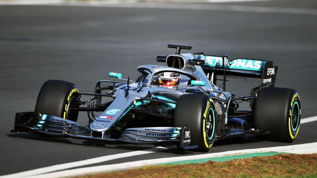 Lewis Hamilton is hungry for more as new Mercedes F1 car makes track debut